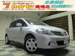 ティーダ15M SV+プラズマ  純正ナビ TV ETC 禁煙車