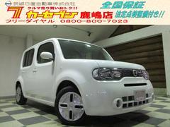 キューブ15X Vセレクション 当社社用車 純正ナビTV Bモニター