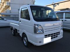 キャリイトラック KCエアコン・パワステ・オートマ 4WD届出済み未使用車(スズキ)