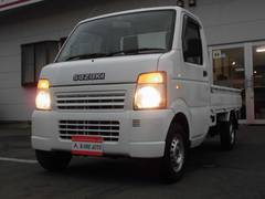 キャリイトラックKC 4WD・エアコン 走行距離無制限 2年間保証