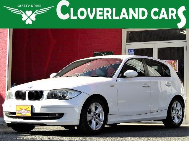 BMW 120i 3ナンバーワイドボディ 2リッターエンジン ステップトロニック付き6速AT HIDヘッド フォグ MTモード ETC CD ワンセグ AUX パワーシート エアロ プッシュスタート 純正16インチAW