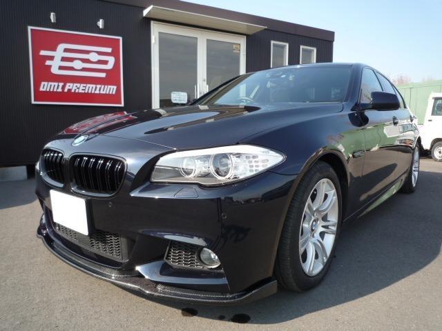 BMW 528i Mスポーツ ナビ 黒革シート オートクルーズ