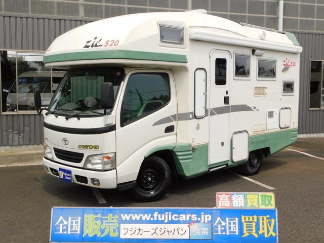 トヨタ キャンピングカー バンテック ジル520 ディーゼルターボ
