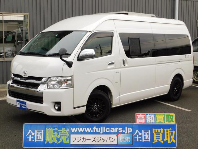 トヨタ キャンピングカー ナッツRV ラディッシュ ソーラーパネル