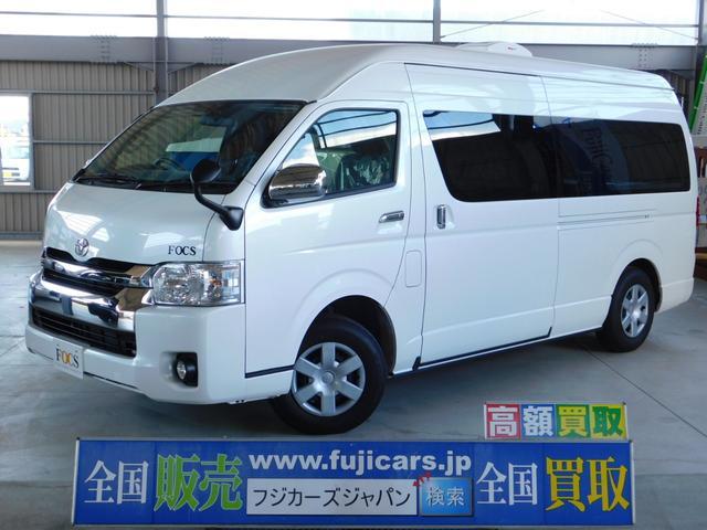 トヨタ キャンピングカー FOCS ディパーチャー 4WD 出窓