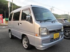 サンバーバントランスポーター 4WD エアコン 車検2年付