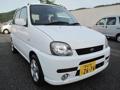 プレオL 4WD マイルドチャージャー 純正ナビ 車検2年付
