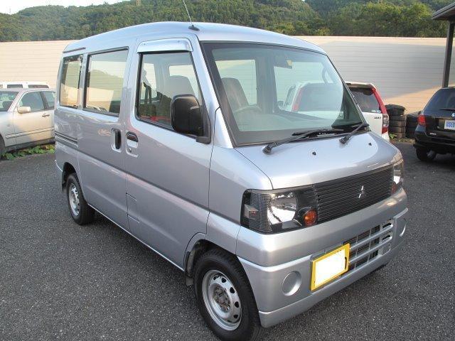 三菱 ミニキャブバン CD 5速 エアコン パワステ タイミング...