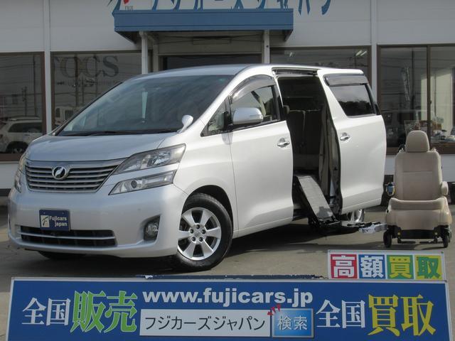 トヨタ ウェルキャブ福祉車輌サイドリフトアップシート脱着式 ETC