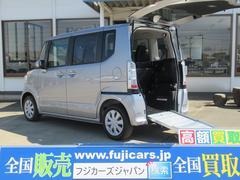 N BOX+福祉車両 スローパー G 電動ウインチ 追突軽減 車椅子1基