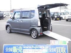 N BOX+カスタム福祉車両アルマス G 電動ウインチ スマートキー ナビETC