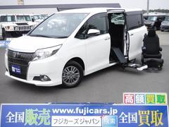 エスクァイア福祉車両 Xi ウェルキャブ サイドリフト脱着式電動シート