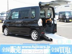 タントカスタムX SAIII車椅子移動車スローパー ナビ 両Pスラ