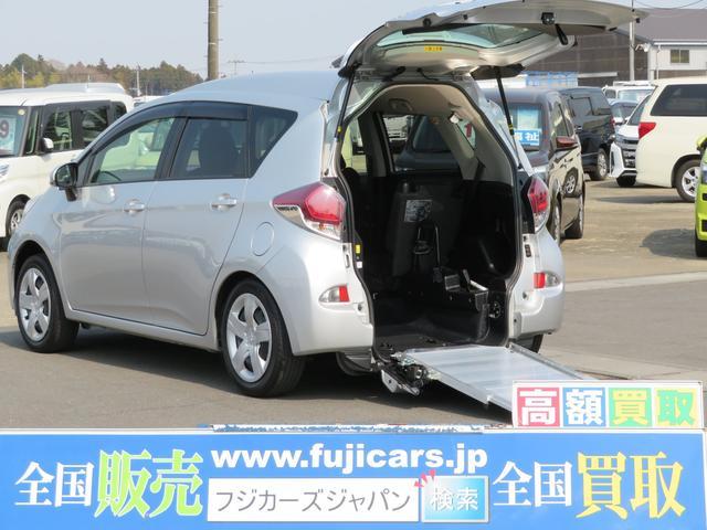 トヨタ 福祉車両1.3Xウェルキャブ車いす仕様車Iリア席付 電動固定