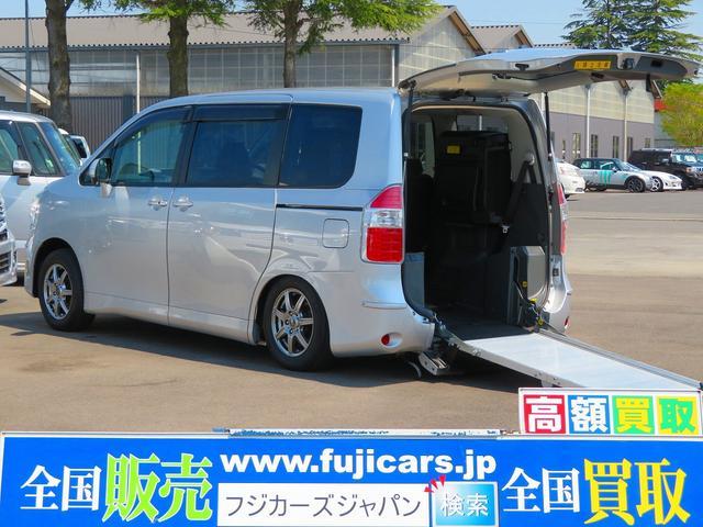 トヨタ X-LウェルキャブスロープI車いす1脚 電動スロープウインチ