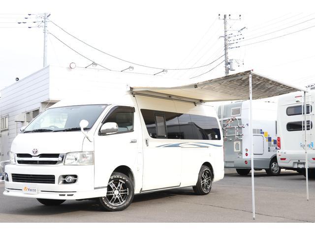 トヨタ レクビィ製 ハイエースプラス 4WD FFソーラー1500W