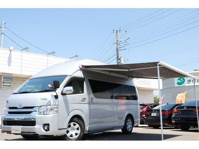 トヨタ TsFACTORY製 スーパーハイルーフ 家庭用エアコン