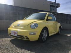 VW ニュービートルキーレス 16インチAW ETC 革シート シートヒーター