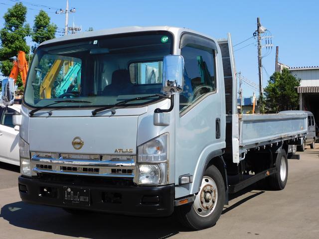 ワイドロング 最大積載量3000KG キーレスエントリー 荷台内寸4350X2070 ワンオーナー 鉄板貼りOK 6速マニュアルターボ 車両総重量5875Kg