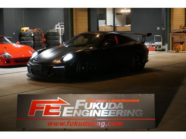 ポルシェ 911 911GT3 RS PDK 外装色ラバオレンジ ブラックラッピング