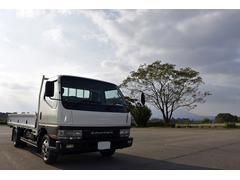 キャンター2t 平ボディー ワイド ロング トラック 元道路維持作業車