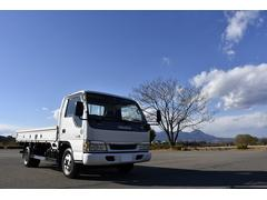 エルフトラック2t ワイド ロング 平ボデー トラック 高床
