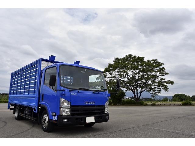 いすゞ 2t ワイド ロング 平 ゴミ収集車 リサイクル車