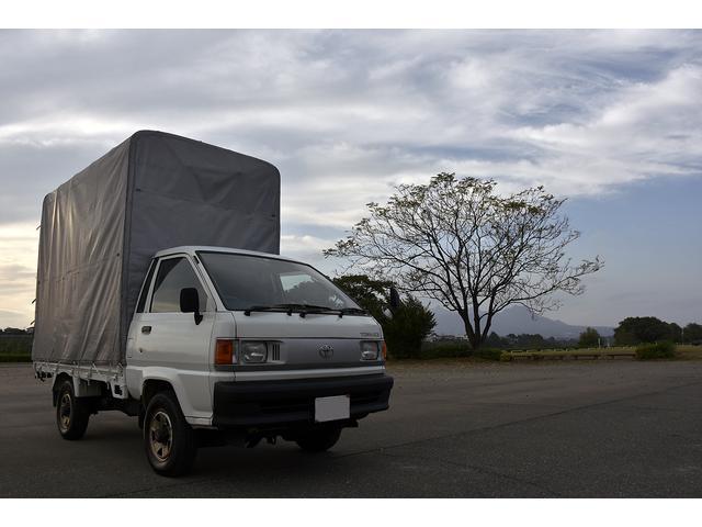 トヨタ ディーゼル 4WD 幌 5速MT トラック