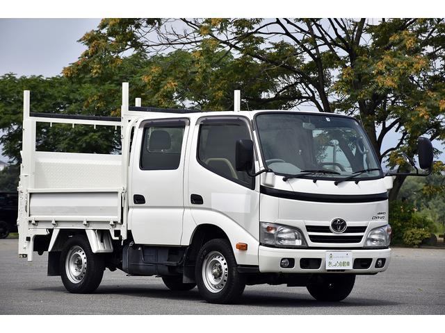 トヨタ ダイナトラック Wキャブ 4WD PG 極東製 パワーゲート ディーゼル