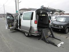 エルグランドV福祉車両電動リフト助手席昇降シートチェアキャブ錆へこみなし