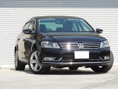 VW パサートTSIハイライン ワンオーナー 本革シート 買取物件