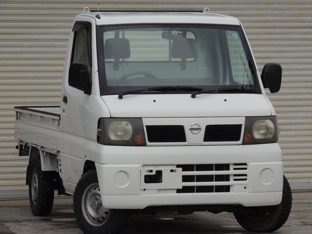 日産 DX ワンオーナー 4WD