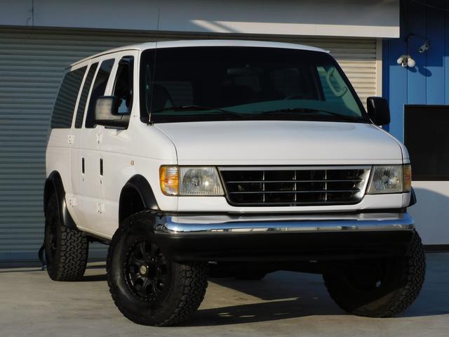 フォード エコノライン  実走行距離車 1ナンバー規格の貨物登録 リフトリフトアップ