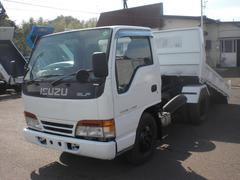 エルフトラック2t ローダーダンプ  排ガス適合車