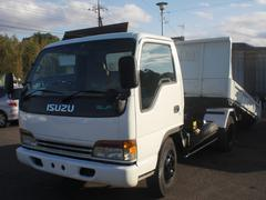 エルフトラック3.5t セルフローダーダンプ 排ガス適合車