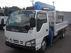 エルフトラック2t 3段フックインユニック 排ガス適合車