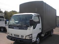 エルフトラックワイドロング ホロ付き 排ガス適合車