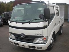 ダイナトラックWキャブ 積載2000K 排ガス適合車