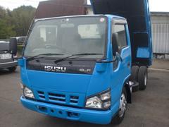 エルフトラック3t 低床ダンプ 排ガス適合車