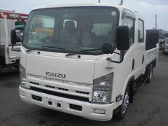 エルフトラックWキャブパワーゲート ワイドロング 排ガス適合車
