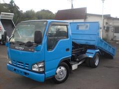 エルフトラック3t  セーフティーローダーダンプ 排ガス適合