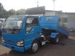 エルフトラック3t ローダーダンプ 5速スムーサー 排ガス適合