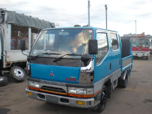 三菱ふそう キャンターガッツ Wキャブ PG 4WD 積載1250kg NO・28
