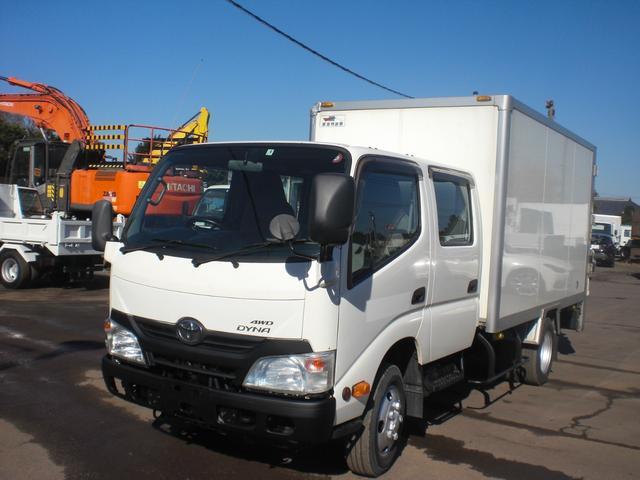 トヨタ ダイナトラック Wキャブ 箱バン PG 4WD 積載2000kg NO・37