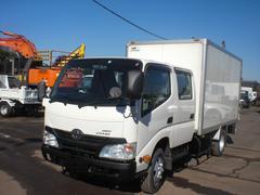 ダイナトラックWキャブ 箱バン PG 4WD 積載2000kg NO・37