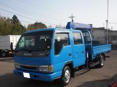 エルフトラック3段ユニック付 ダブルキャブ 積載2550kg NO・3