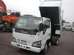エルフトラック3t 低床ダンプ 積載3000kg 排ガス適合車 NO・22