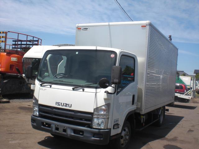 いすゞ エルフトラック 箱バン 4WD ワイド 積載2000kg NO・40