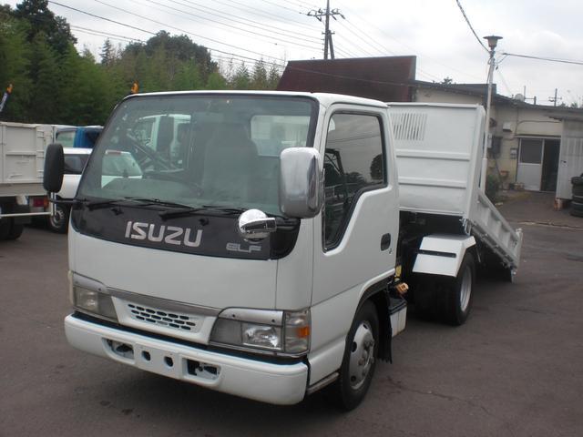 いすゞ エルフトラック 3t ローダーダンプ 積載3000kg NO・10