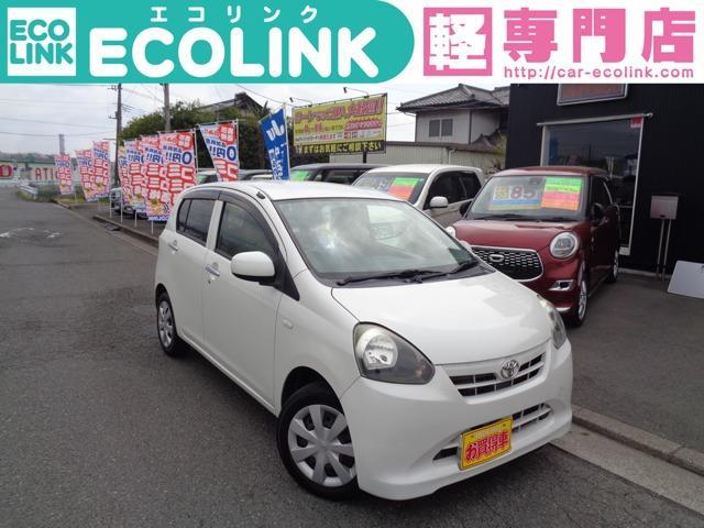 トヨタ X タイミングチェーン車 エコアイドル・CD・キーレス・電動格納ミラー 走行41000km